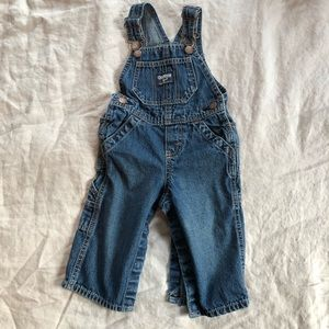 Denim Oshkosh overalls!